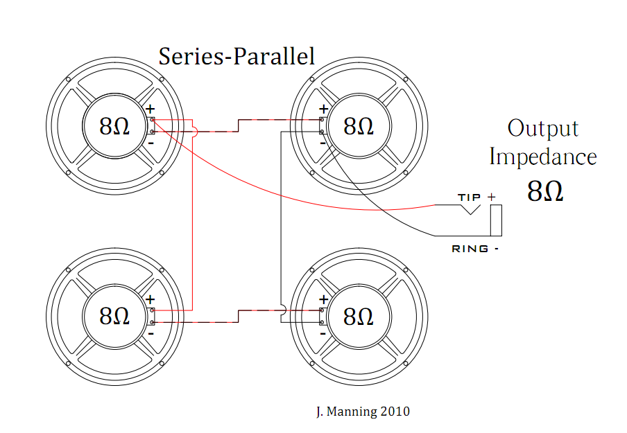 series parallel1 wiring your speaker cabinet mojo shout speakers in series diagram at sewacar.co