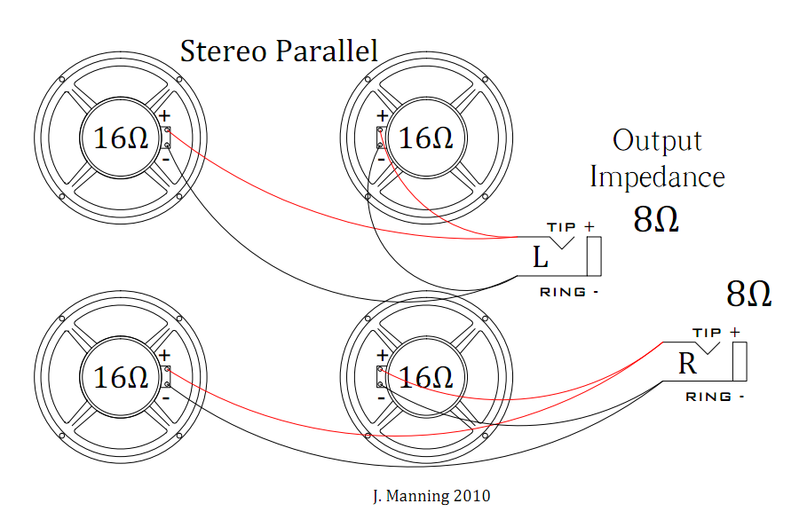 stereo parallel wiring diagram database \u2022 limouge co  at mr168.co